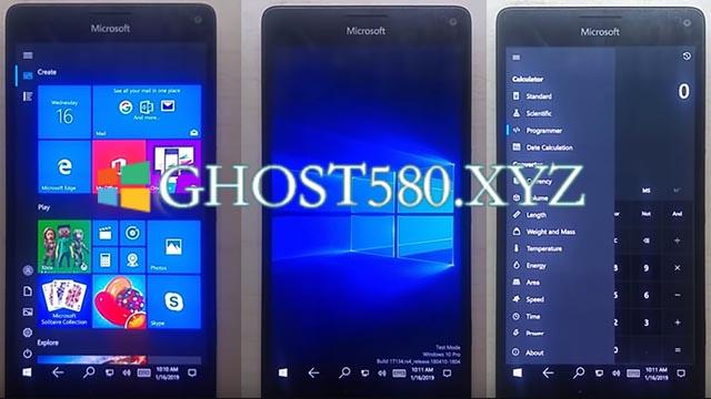 Lumia 950上用于ARM的Windows 10取得了重大进展