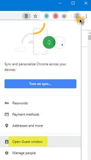 如何在Win10中始终以访客模式打开Chrome