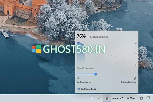 Windows 10电池计量器进行了全面的大修