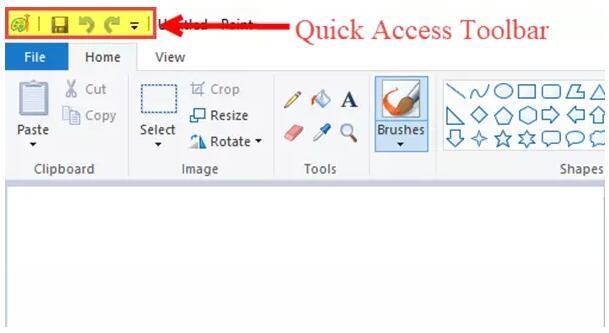 如何在Windows 10中打开和使用画图