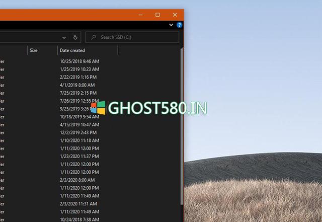 如何使Windows 10版本2004滚动条更小