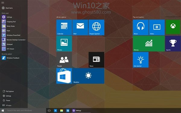 Windows 10 Build 10122 专业版(64位)简体中文技术预览版